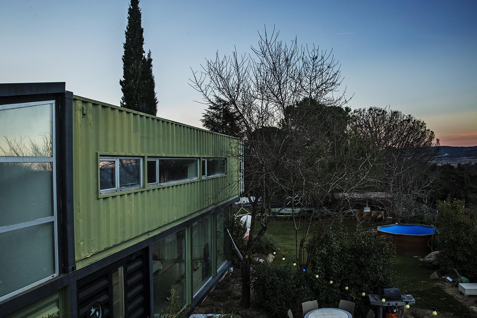 Vista Panorámica Casa Entrearboles Sierra de Gredos