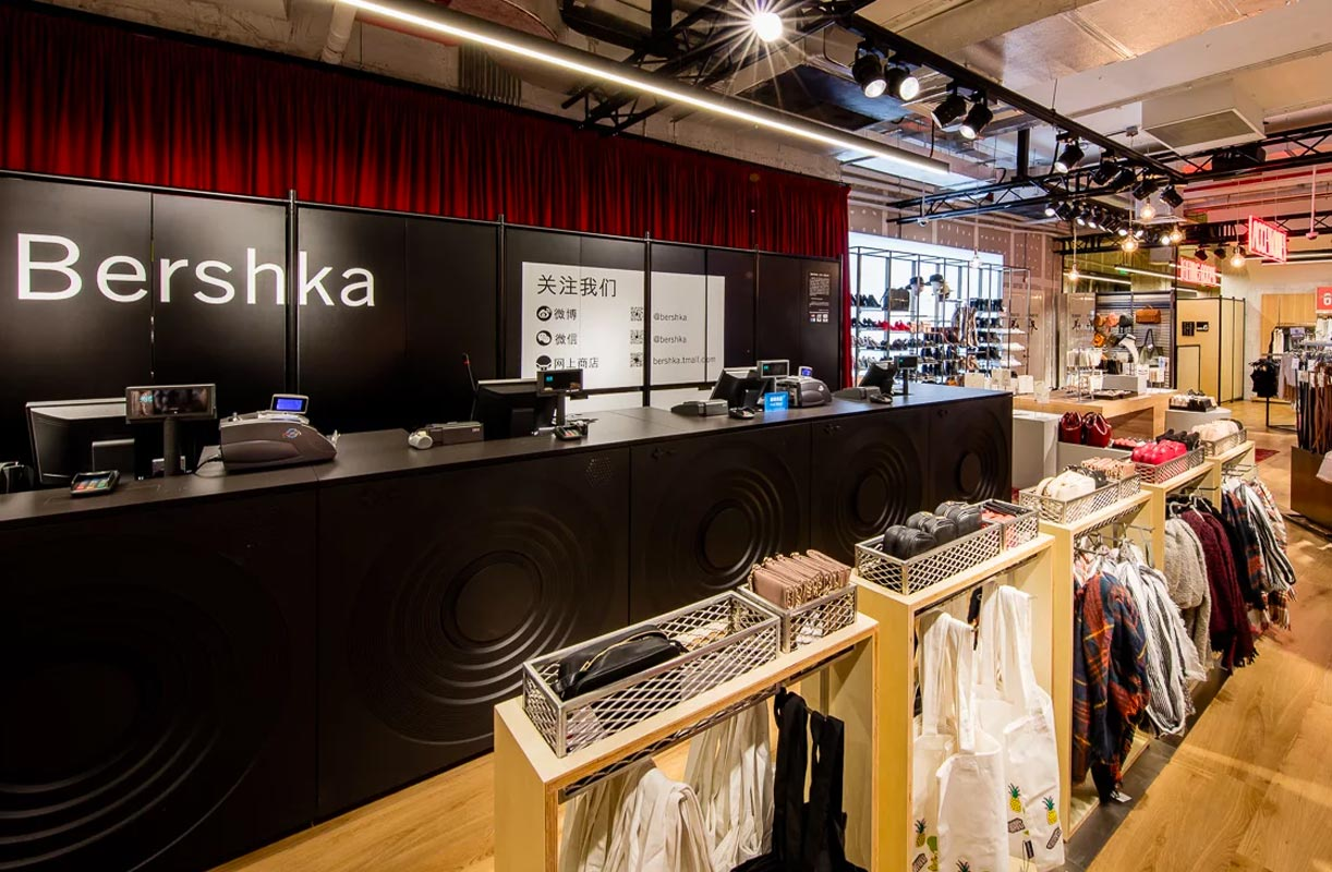 Bershka tiendas madrid proyectos un icono visual en el for Oficinas centrales inditex