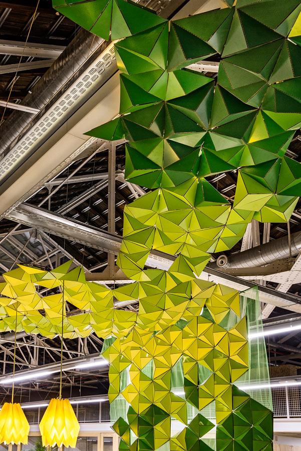 Iluminación oficinas Biodiversidad