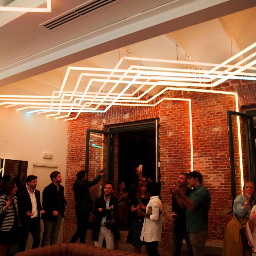 Proyecto iluminación evento Light Studio Telar