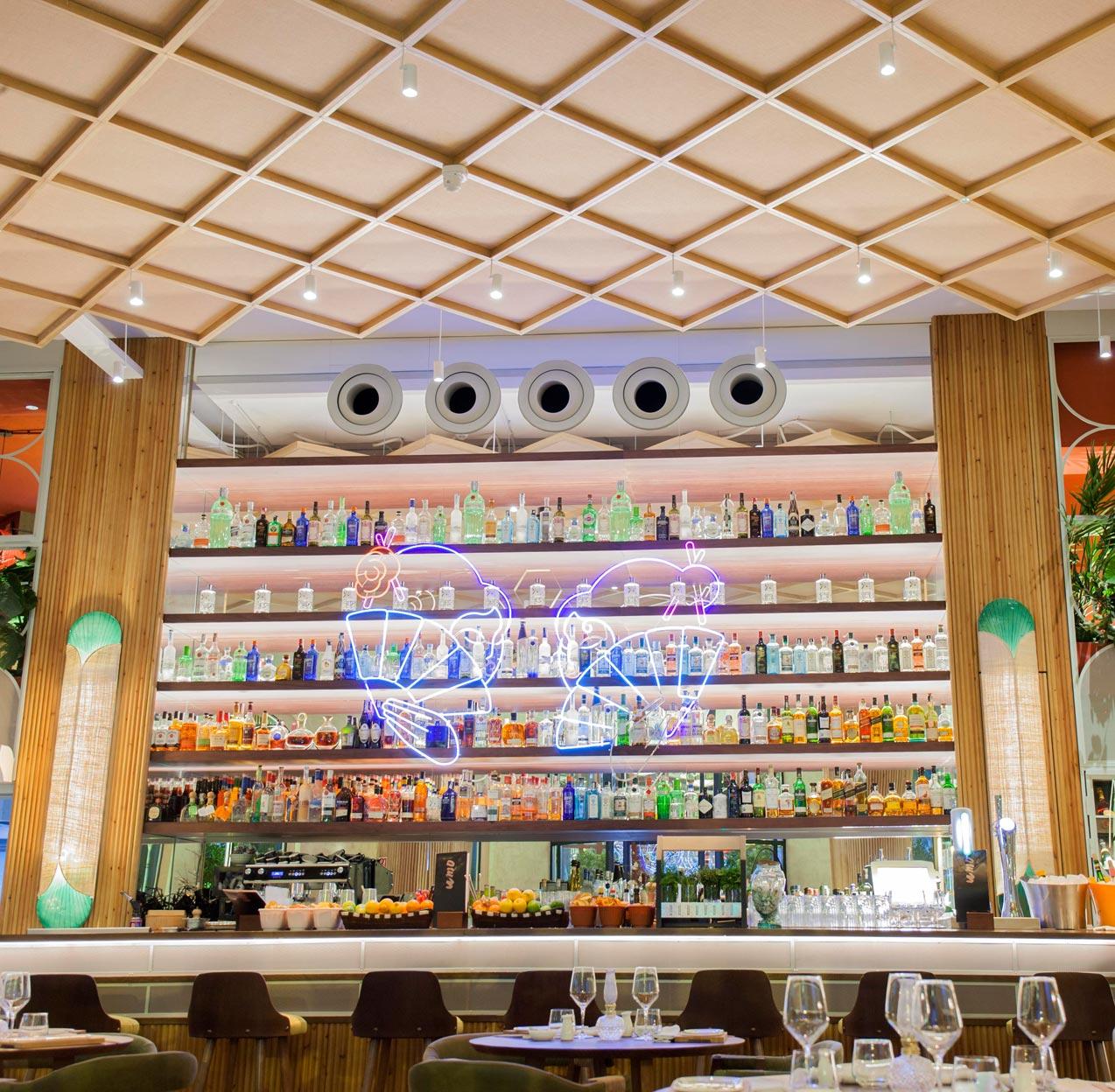 Proyecto de iluminación restaurante Umo Madrid