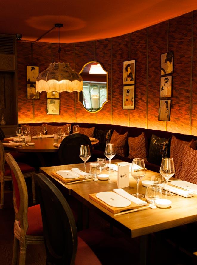 Proyectos iluminación restaurantes Japoneses