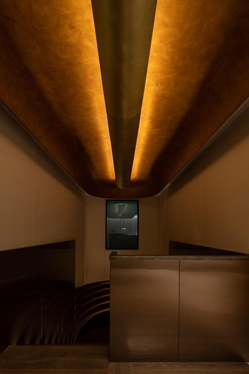 Proyectos iluminación escaleras restaurantes